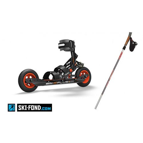 Pack SKIKE V07 Plus Pro (Rollers + Bâtons)