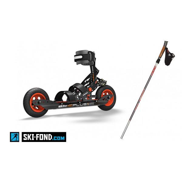 Pack SKIKE V07Plus (Rollers + Bâtons)