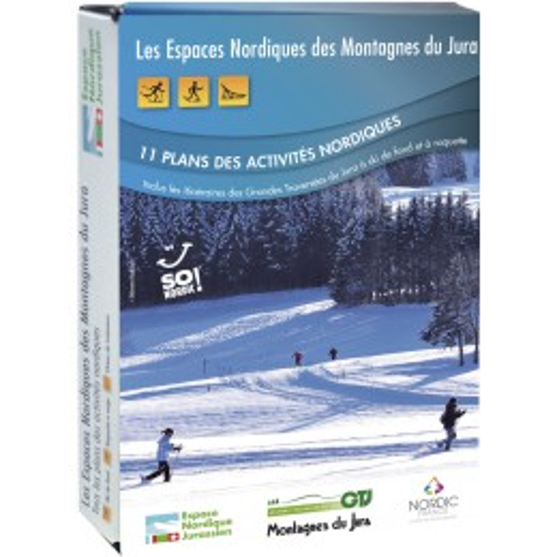 NORDIC FRANCE Plans activités nordiques du Jura