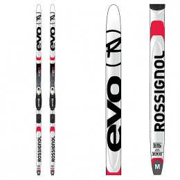 ROSSIGNOL Evo First AR 49 + Fixations