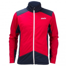 Swix PowderX jkt. Women's red
