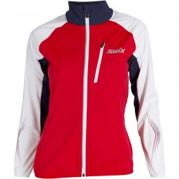 Swix Dynamic jkt. Women's red