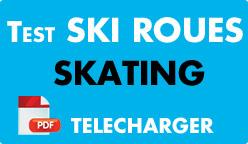 Test ski roues skating
