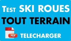 Test ski roues tout terrain